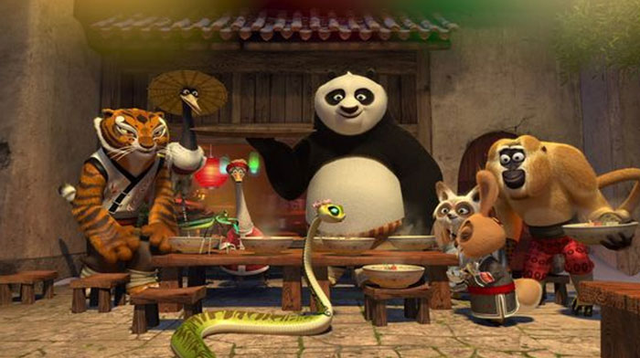 The Cast of Kung Fu Panda 4
