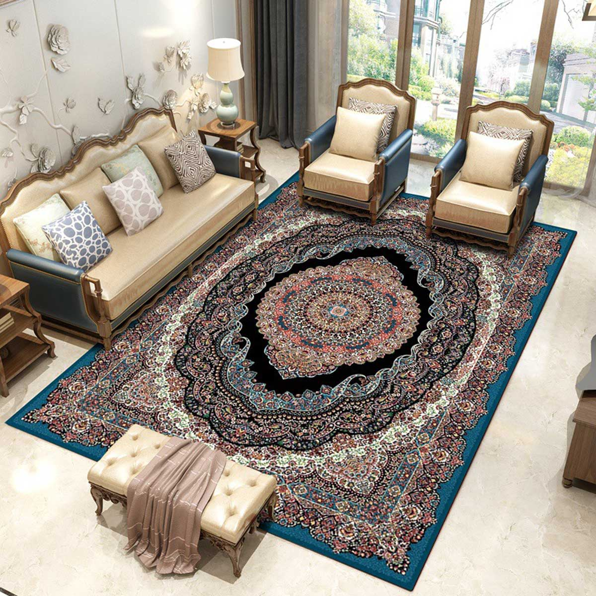 Adorn the Floor with a Persian Rug