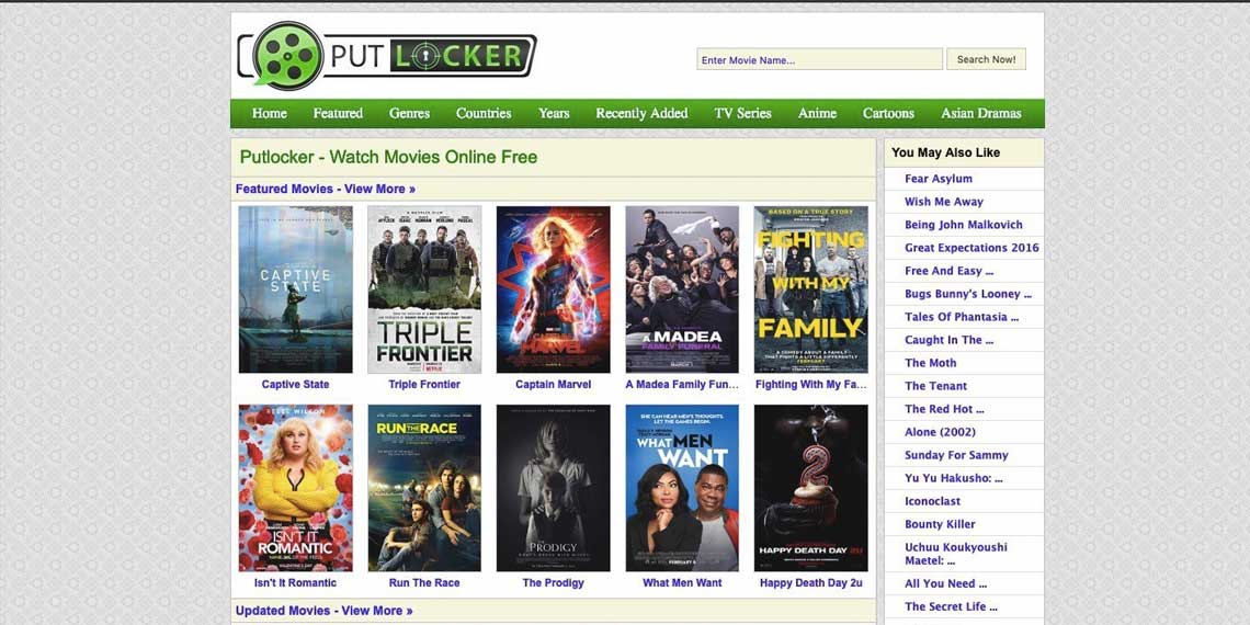 Sites Like Putlocker: Top 12 Best Alternatives To Putlocker